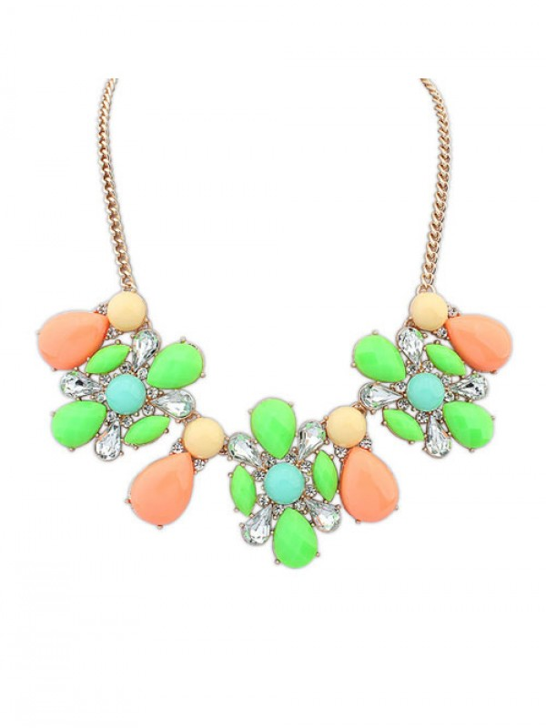 Occident Street shooting Collision color Exquisite Simple Hot Sale Necklace